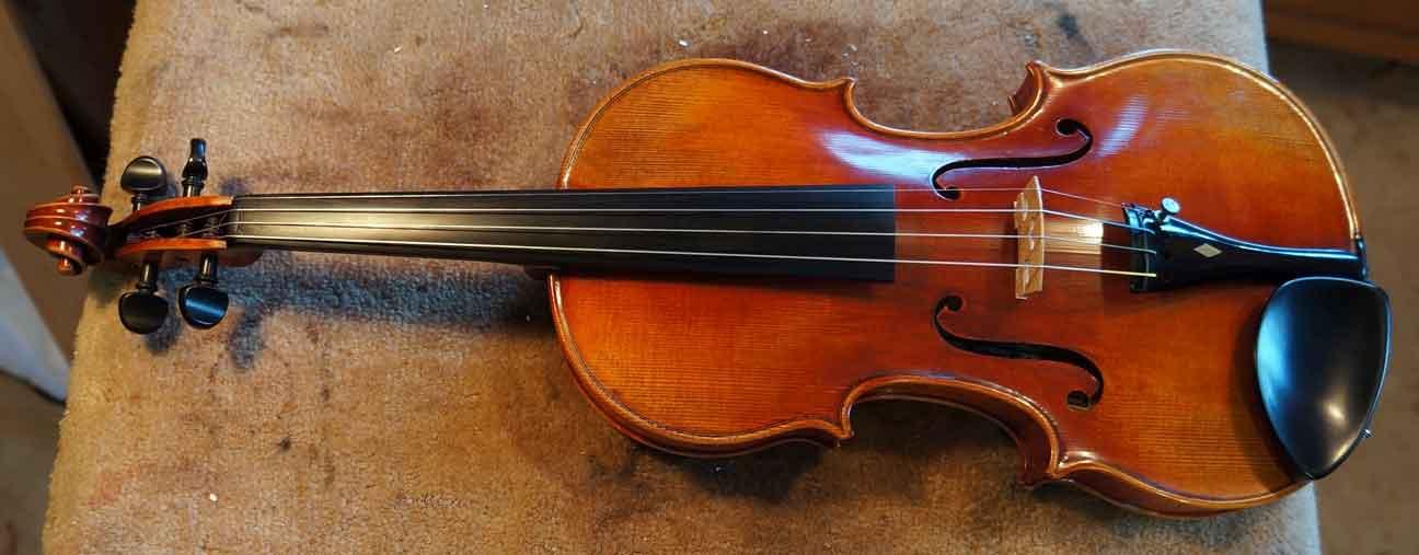 1954 Juzek Masterart Strad Copy Violin For Sale By Bruce Sexauer